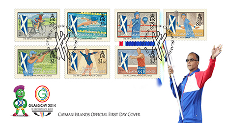 Glasgow Games First Day Cover